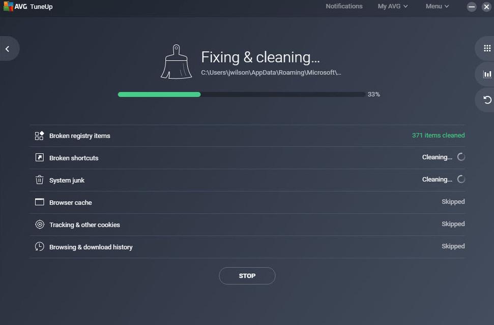 Få mer plass med AVG TuneUp for Mac